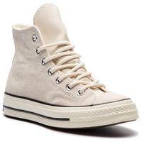 Sneakersy - chuck 70 hi 162372c natural ivory/blac marki Converse