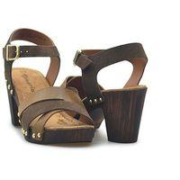 Sandały Tamaris 1-28356-28 Brązowe zamsz