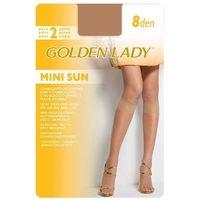 Golden lady Podkolanówki mini sun 8 den a'2 uniwersalny, beżowy/the, golden lady