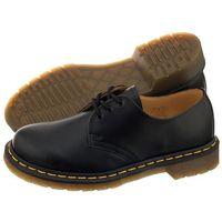 Półbuty Dr. Martens 1461 Black Smooth 10085001 (DR2-a), kolor czarny