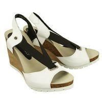 NIK 07-0165-00-0-077-00 biały, sandały damskie