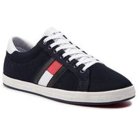 Sneakersy TOMMY HILFIGER - Essential Flag Detail Sneaker FM0FM02202 Midnight 403, w 4 rozmiarach