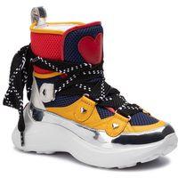 Sneakersy LOVE MOSCHINO - JA15286G18IZ175A Retemix Ne/Blu/Gu