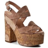 Sandały TWINSET - Sandalo CS7TUQ Nudo Scuro 0846S, w 3 rozmiarach