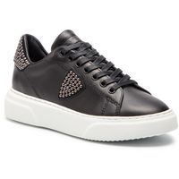 Sneakersy PHILIPPE MODEL - Temple Femme L D BGLD SD02 Studs Noir, kolor czarny