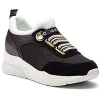 Sneakersy LIU JO - Karlie 13 B19003 TX030 Black/White 00054, kolor czarny