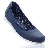 Baleriny niebieski dżins marki Bonprix