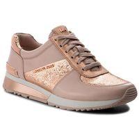 Sneakersy MICHAEL MICHAEL KORS - Allie Wrap Trainer 43T8ALFS2M Soft Pink, 1 rozmiar