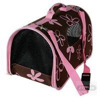 Zolux  torba transportowa dla małych zwierząt kolor czekoladowo-różowy