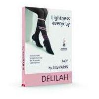 Sigvaris Delilah - Rajstopy ciążowe, profilaktyczne mesh 140 den