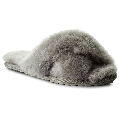 Emu australia Kapcie - mayberry w11573 light grey