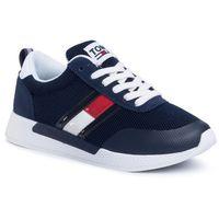 Sneakersy TOMMY JEANS - Technical Flexi Runner EN0EN00875 Twilight Navy C87, kolor niebieski