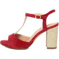 Eye damskie sandały 39 czerwony, kolor czerwony