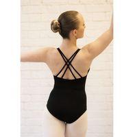 Body treningowe na ramiączkach pajączek b103c czarne - czarny marki Rennwear