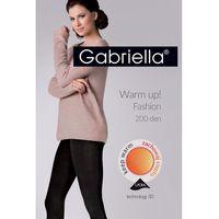warm up! fashion 200 den code 412 rajstopy bawełniane marki Gabriella