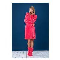 Szlafrok damski duffy różowy, L&l