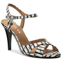 Sandały - 4688 czarno/biały marki Badura