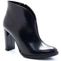 2720 czarne - eleganckie damskie botki, Tymoteo