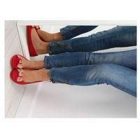 Balerinki damskie klasyczne czerwone vs-330 red 38 marki Obuwie damskie