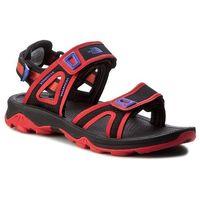 Sandały - hedgehog sandal ii t0cxs5ths tnf black/cayenne red marki The north face