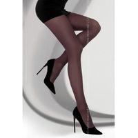 marcela 40 den bordeaux rajstopy marki Livco corsetti fashion