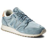 Sneakersy - wl520bl niebieski, New balance
