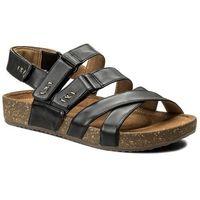 Sandały - rosilla keene 261325284 black leather, Clarks, 35.5-40