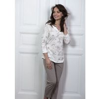 Piżama Cana 192 3/4 M-XL XL, ecru-beżowy. Cana, L, M, XL, 1 rozmiar