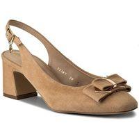 Sandały - 52307-31-h47/000-05-00 beż marki Solo femme