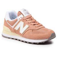 Sneakersy NEW BALANCE - WL574ESF Pomarańczowy, kolor pomarańczowy