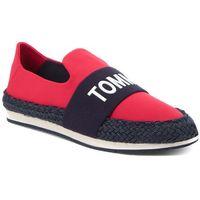 Espadryle TOMMY JEANS - Tommy Jeans Hybrid Slip On EN0EN00096 Tango Red 611