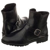Tamaris Botki czarne 1-25042-29 001 black (tm113-a)