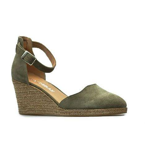 Sandały Ryłko 5HKN4_V_XC3 Oliwka zamszowe, kolor zielony