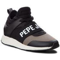 Sneakersy PEPE JEANS - Koko Logo PLS30741 Black 999, w 2 rozmiarach