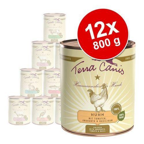 Terra canis 6 x 800 g - królik z cukinią, amarantem i czosnkiem niedźwiedzim (4260109620233)