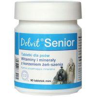 Dolfos senior - preparat mineralno - witaminowy dla starszych psów mini 90tab. (5906764765115)