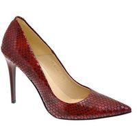 Czółenka Zalbut Arturo Vicci 4700 viper red (10209943)