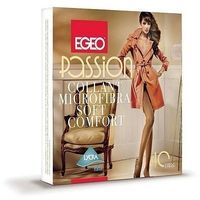Rajstopy Egeo Passion Microfibra Soft Comfort 40 den 2-4 2-S, beżowy/toffie, Egeo