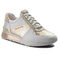 Sneakersy MICHAEL MICHAEL KORS - Allie Wrap 43T8ALFS1M Champ/Op Wht