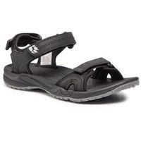 Sandały - lakewood cruise sandal w 4019032 black marki Jack wolfskin