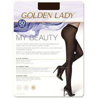 my beauty 50 • rozmiar: 4/l • kolor: marrone scuro marki Golden lady
