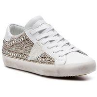 Philippe model Sneakersy - paris clld se03 ethni studs blanc argent