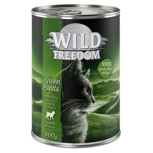 Wild freedom adult, 6 x 400 g - deep forest - dziczyzna i kurczak