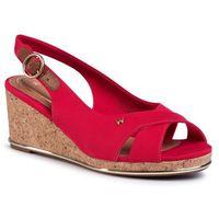 Sandały - panama mila' wl01530a red 087 marki Wrangler