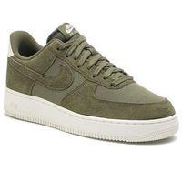 Nike Buty - air force 1 '07 suede ao3835 200 medium olive/medium olive/sail