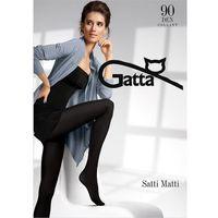 Rajstopy Gatta Satti Matti 90 den 2-S, zielony/aloe green. Gatta, 2-S, 3-M, 4-L