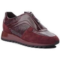 Sneakersy - d tabelya a d84aqa 04122 c7b7j bordeaux/dk burgundy, Geox