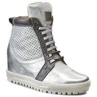 Sneakersy EKSBUT - 76-4129-369/F97/F94 Srebro Licowa