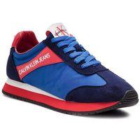 Calvin klein Sneakersy jeans - jill r8527 multi blue
