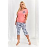Taro Donata 2186 2XL-3XL 'L20 piżama damska, 2186 Donata morelowa